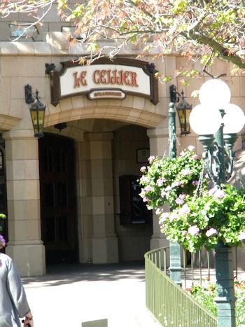 LeCellier Entrance