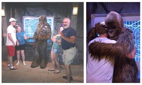Meet n Greet with Chewbacca