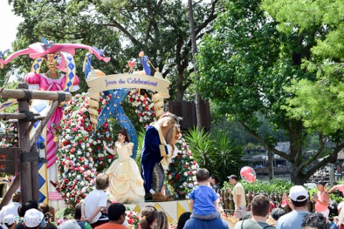 Parades at the Magic Kingdom