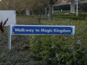 Walkway to the Magic Kingdom