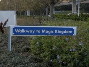 Walkway to the Magic Kingdom