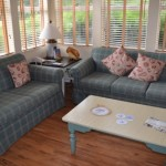 Old Key West Resort Couch love seat and coffee table