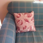 Old Key West Resort Couch and Pillow pattern