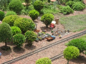 Miniature train village in Germany at World Showcase