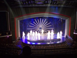 Production Showtime On Mariner of the Seas 5