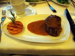 Filet Mignon from Chops Grille Steakhouse