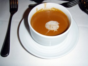 Royal Caribbean Mariner of the Seas Lobster Bisque