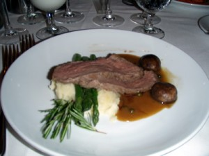 Royal Caribbean Mariner of the Seas Filet of Beef