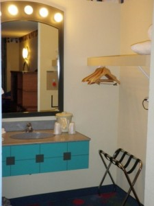 All Star Music Resort Guest Room Sink Area