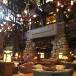 Grand Californian main lobby