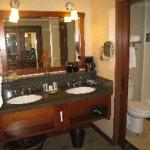 Bathroom/vanity area at Disney's Grand Californian