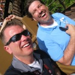 Trying to escape the Yeti on Disney's Animal Kingdom's Expedition Everest