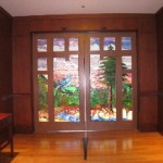 Grand Floridian entryway stained glass doors