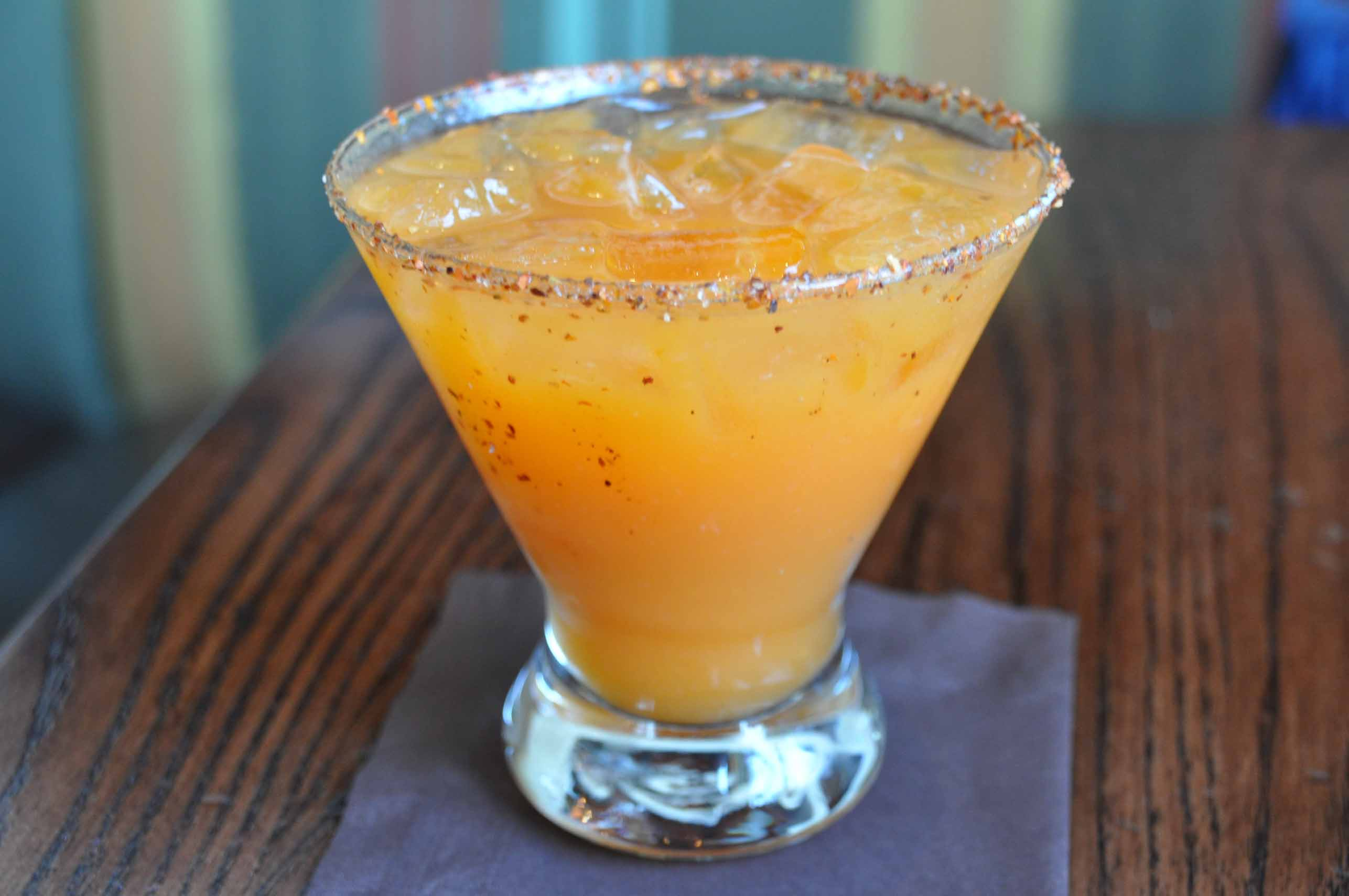 Orange Mango Fire Margarita