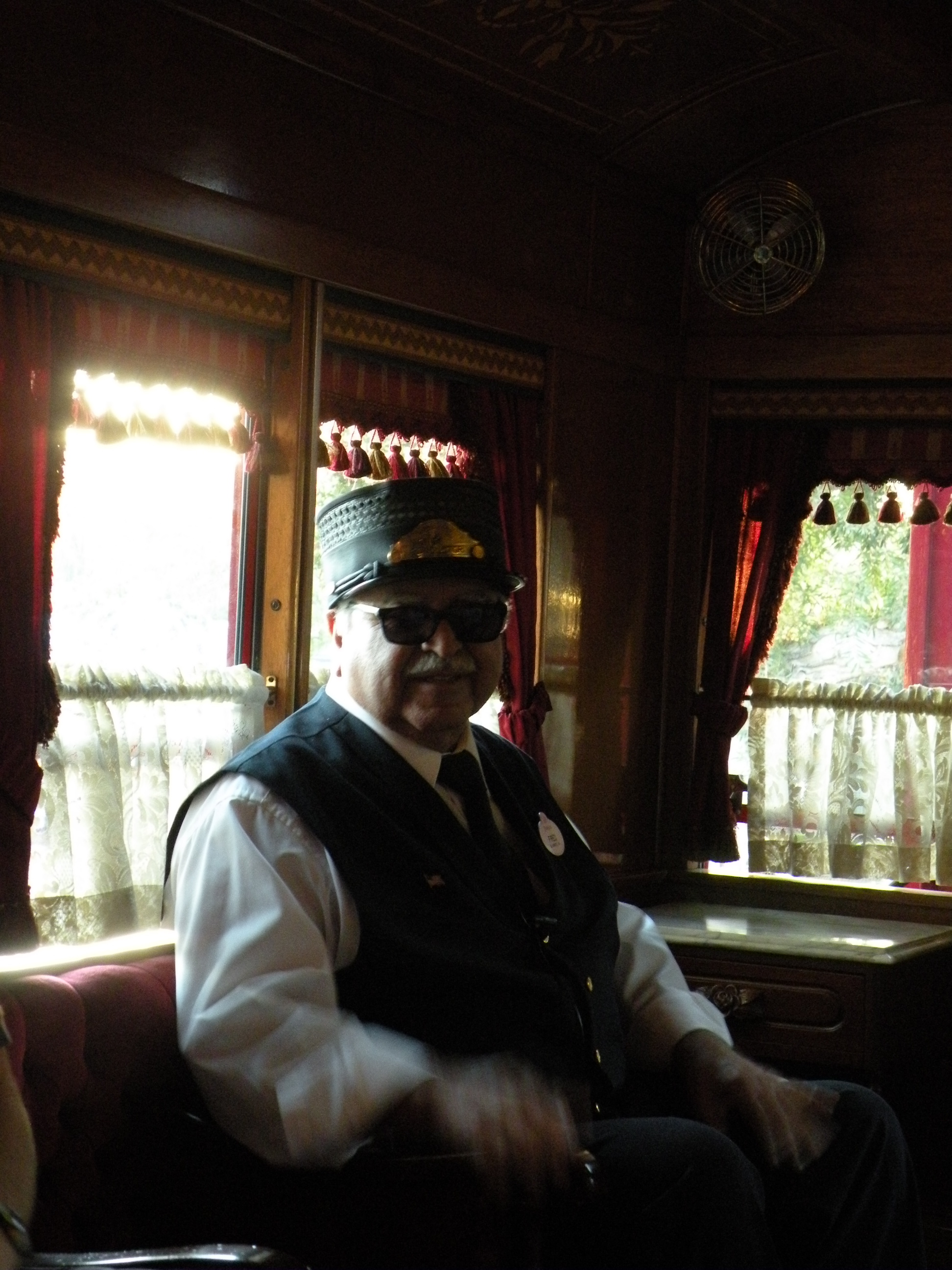Conductor for the Lilly Belle
