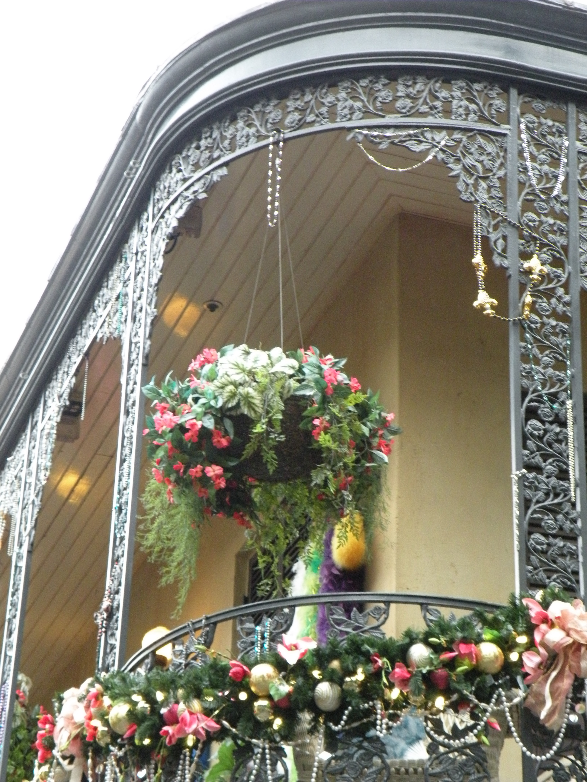 Decorations in New Orleans Square