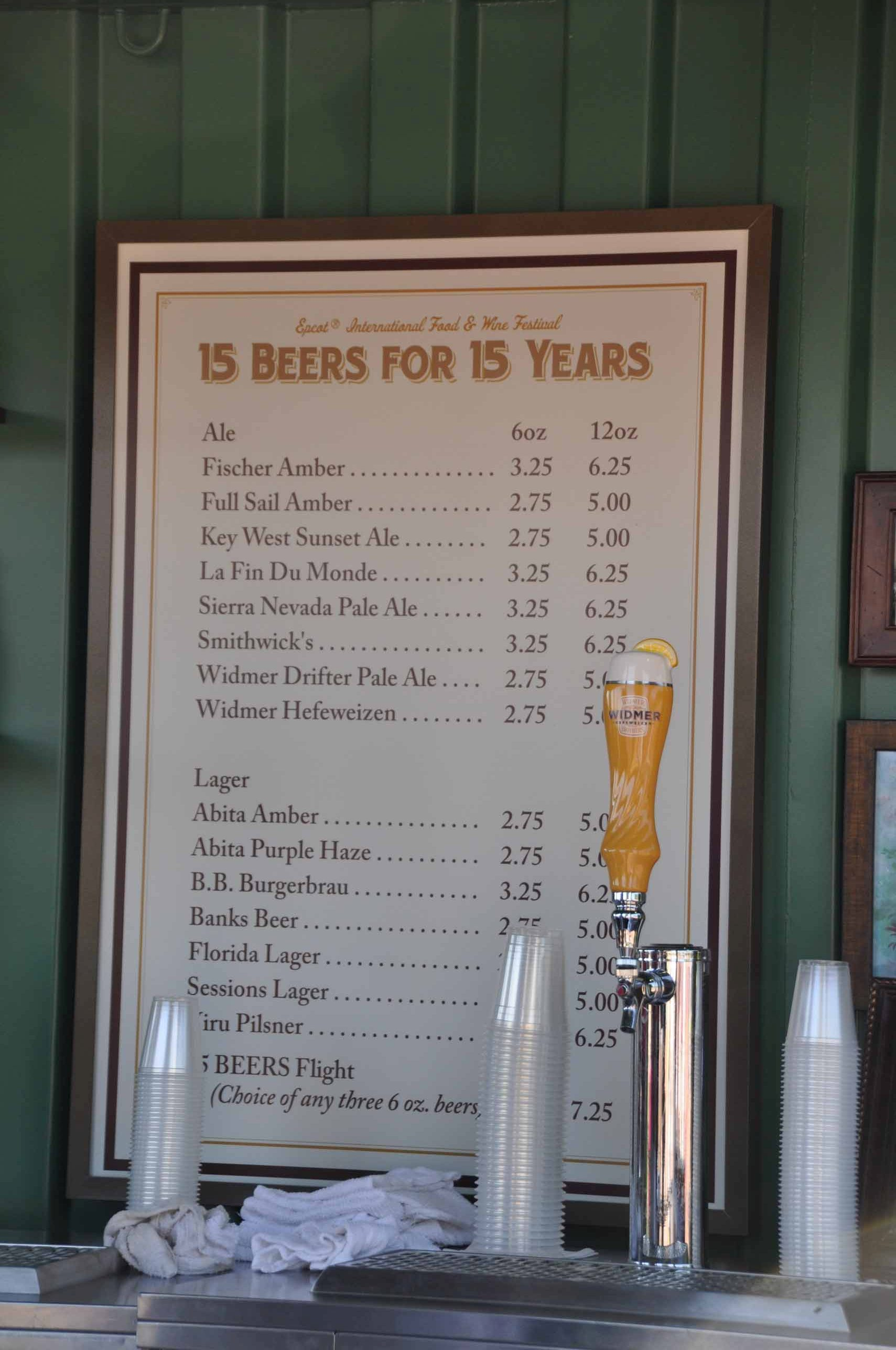 15 Beers for 15 Years