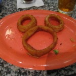 Make your own!  An onion ring Mickey at Beaches & Cream at Walt Disney World'sDisney's Beach Club