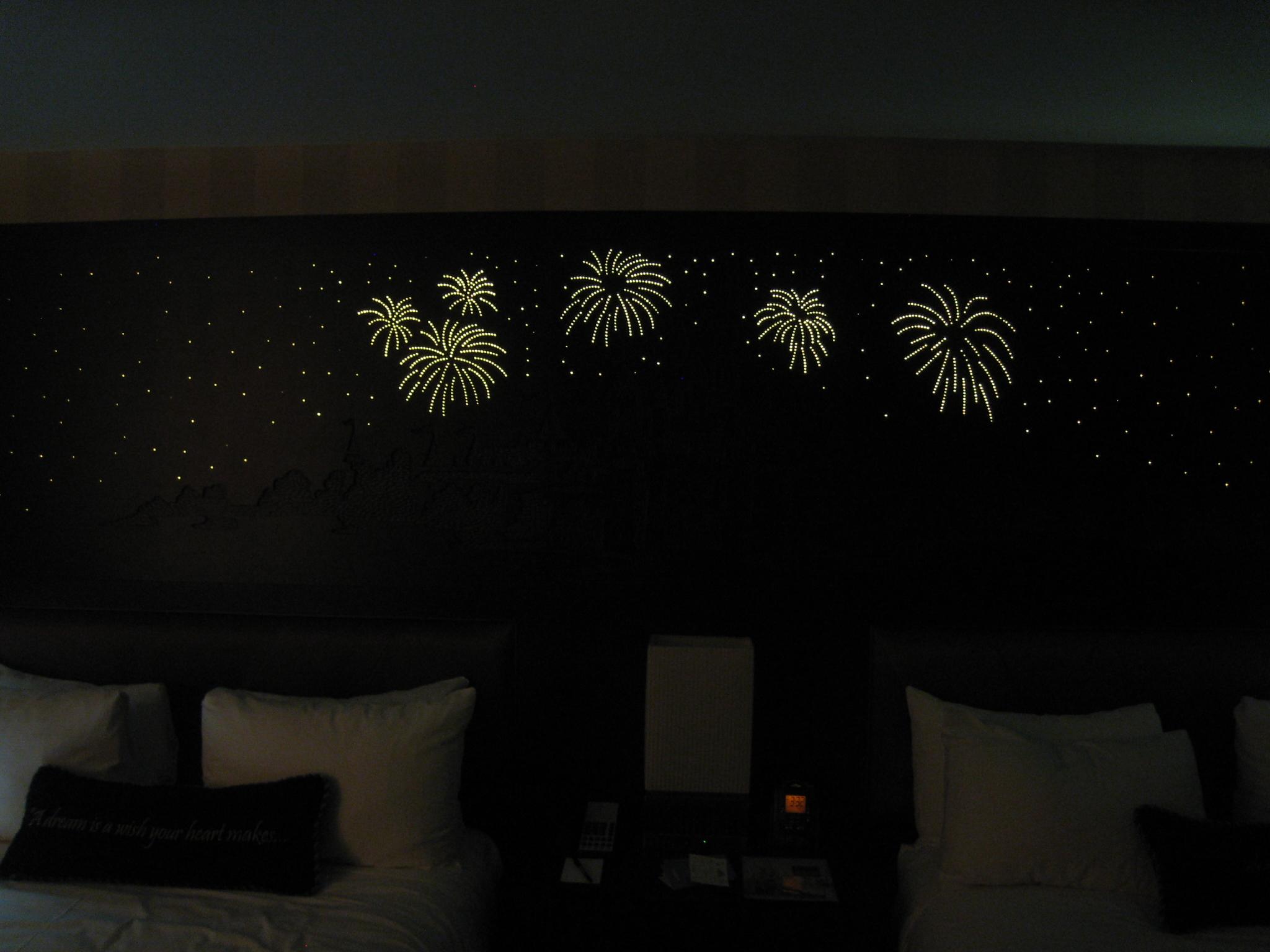 Headboard Fireworks