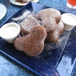 For a limited time Café Orleans at Dinseyland is serving Gingerbread beignets