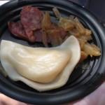 Poland's Kielbasa & Potato Pierogie