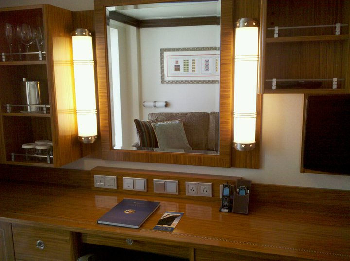 Category V concierge family stateroom with verandah