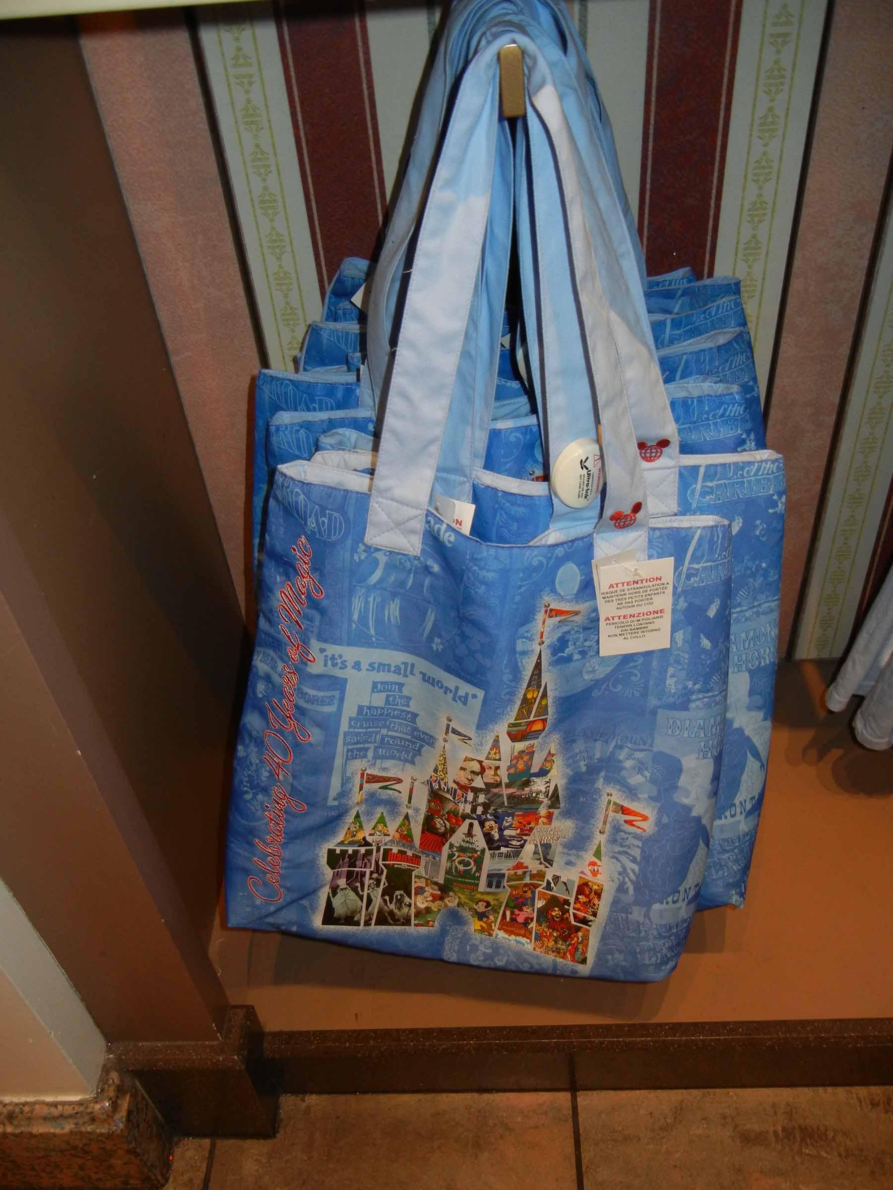 Disney 40th Anniversary merchandise