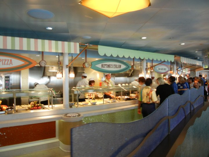 Disney Dream Part 15 Cabanas Decor And Food on seaside home decor