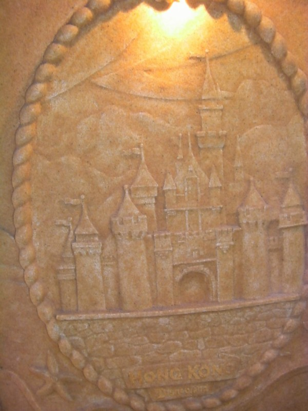 "Disney Dream Cabanas Walt Disney World ""Sand"" castle"