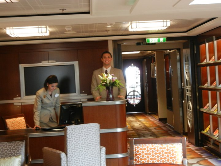 Disney Dream Concierge Lounge Staff