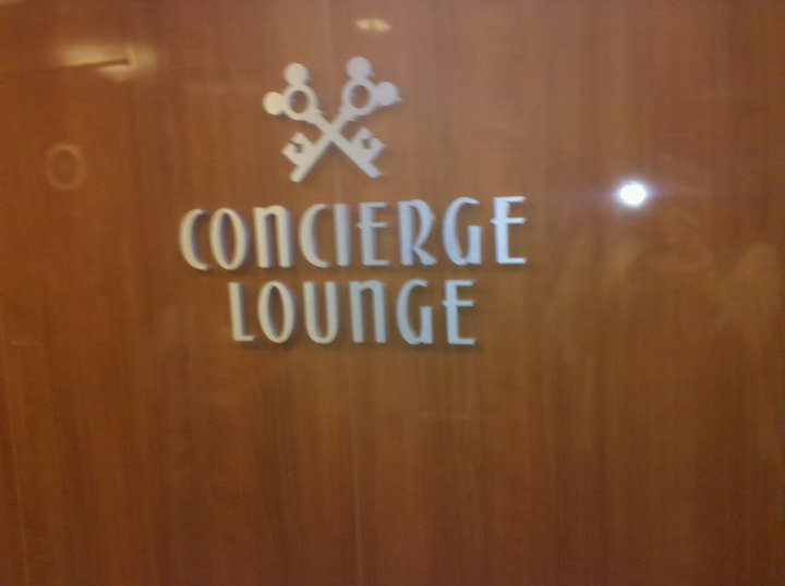 Disney Dream Concierge Lounge