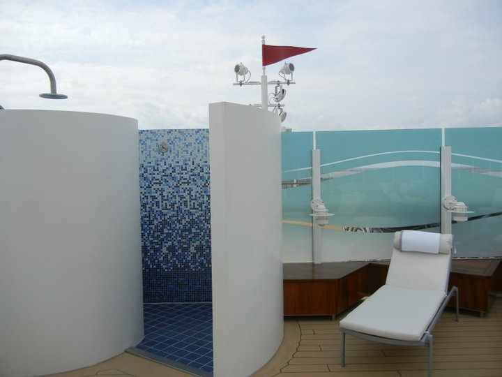 Disney Dream Concierge Sun Deck Shower