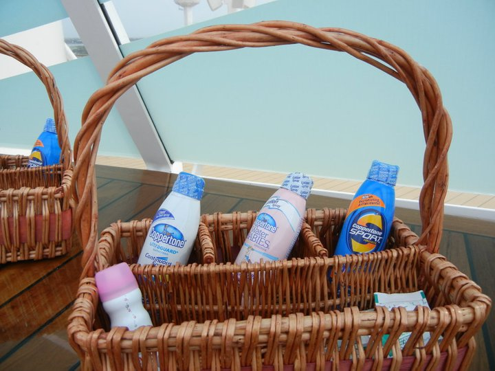 Disney Dream Concierge Sun Deck Complimentary Sun Products