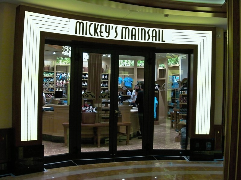 Disney Dream Mickey's Mainsail