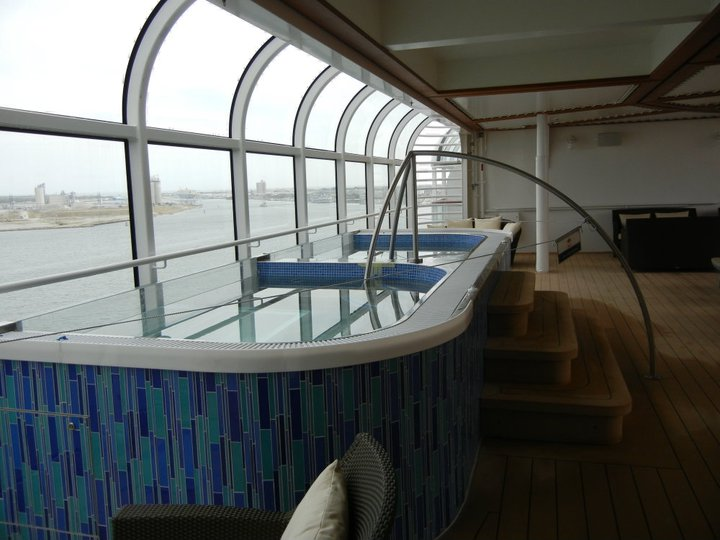 Disney Dream Quiet Cove Hot Tubs