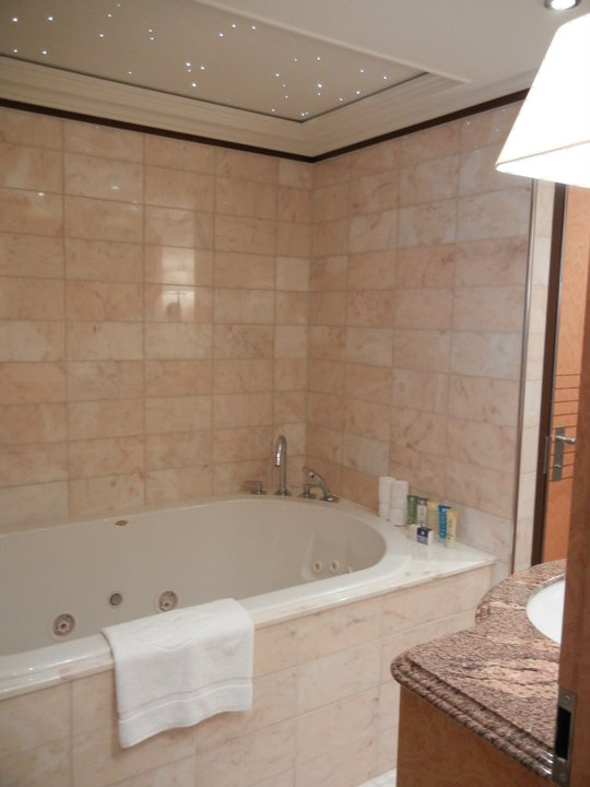 Disney Dream Roy Disney Suite Stars above tub
