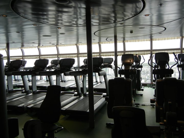Disney Dream Senses Spa and Salon Gym