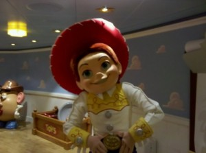 Toy Story Jessie on the Disney Dream