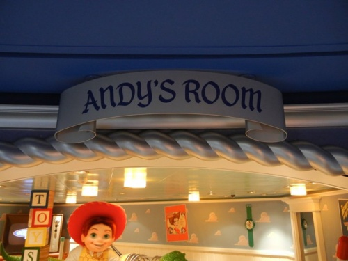 Disney Dream Andy's Room