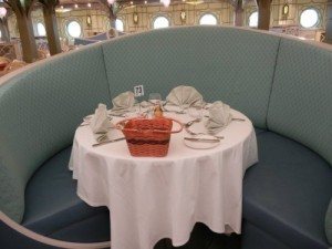 Disney Dream Enchanted Garden Dining Table