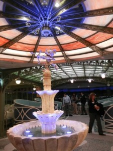 Disney Dream Enchanted Garden Fountain