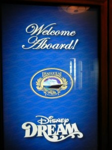 Dream welcome aboard
