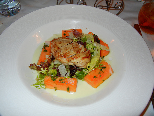 DCL DReam Royal Palace Lunch Lemon Chicken Salad