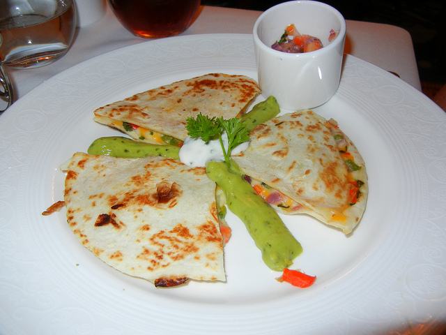 DCL DReam Royal Palace Lunch quesadilla