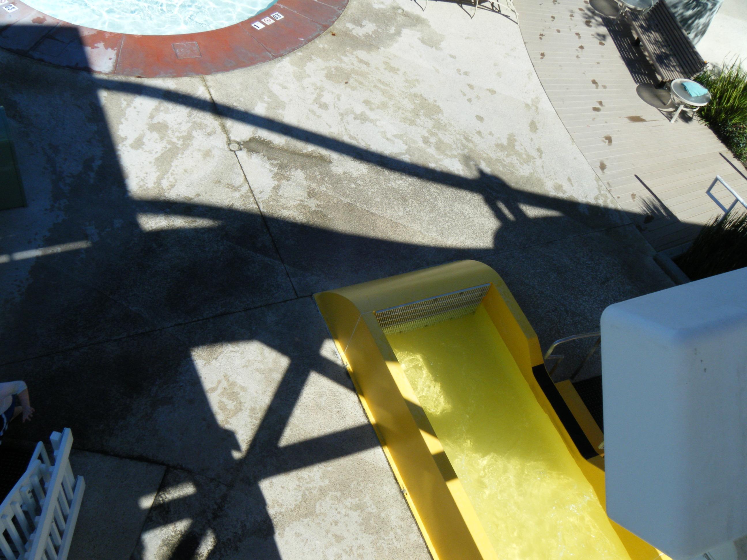 Paradise Pier Hotel Slide Outlet