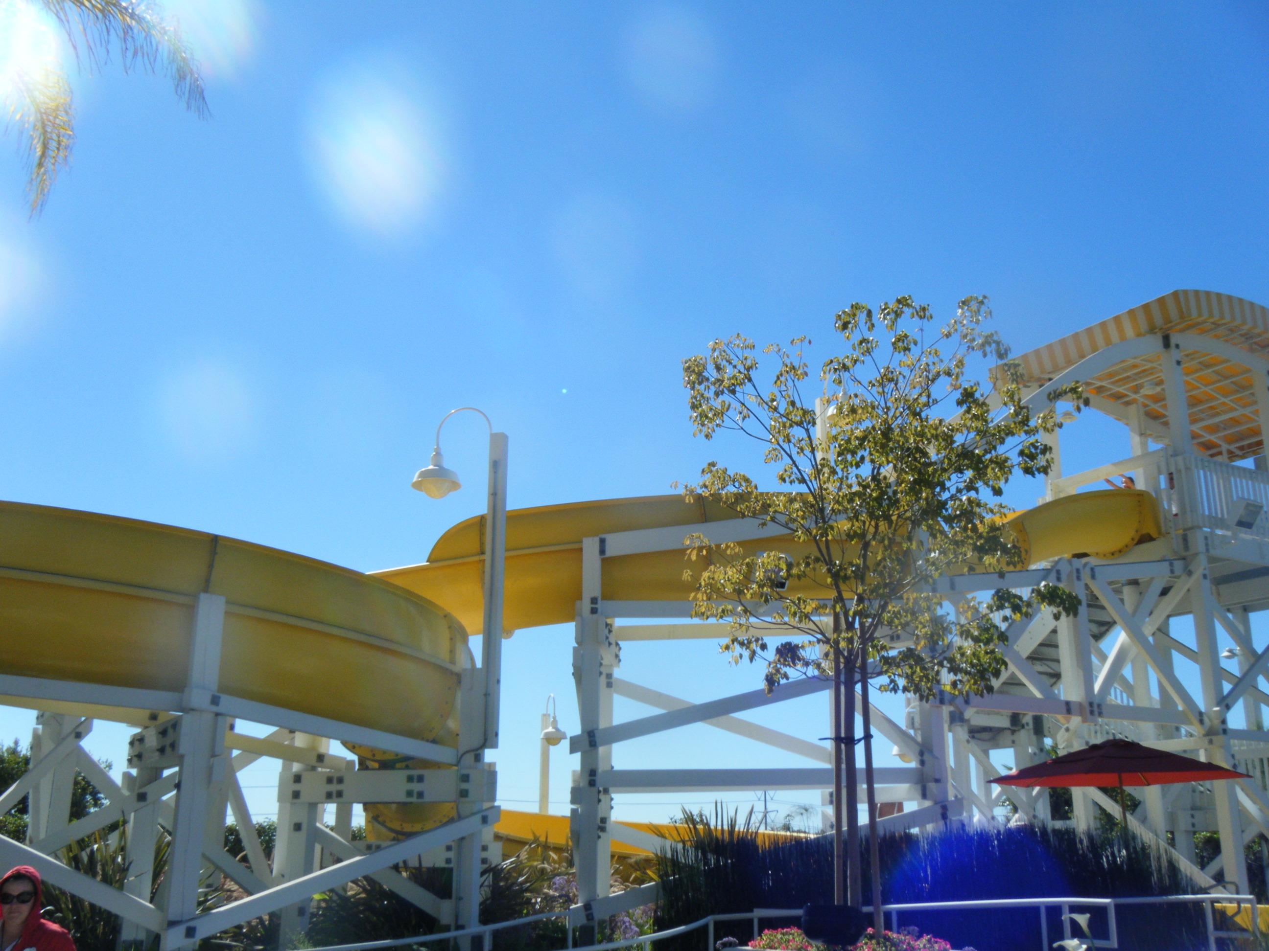 Paradise Pier Hotel Slide