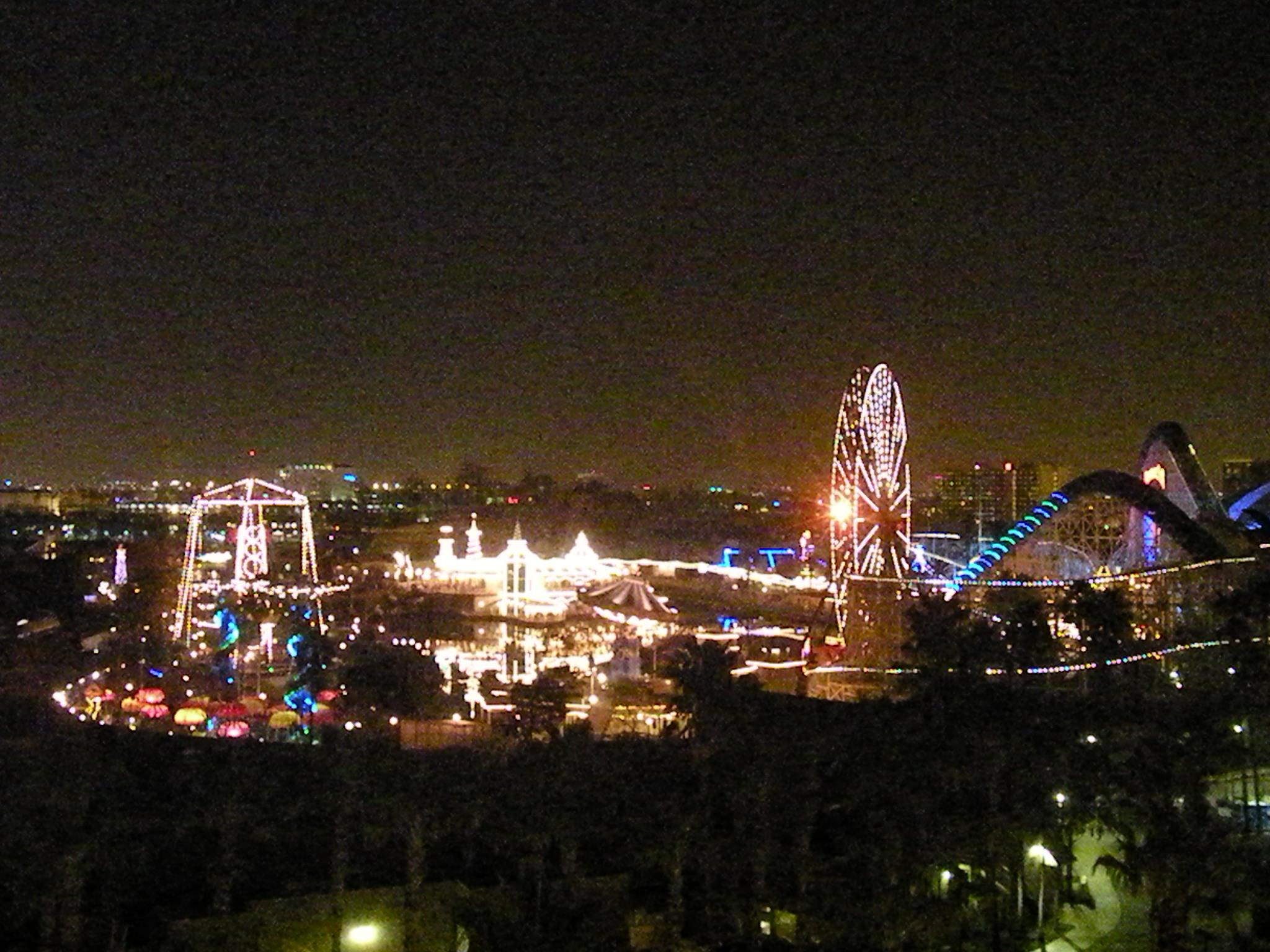 Night Lagoon View