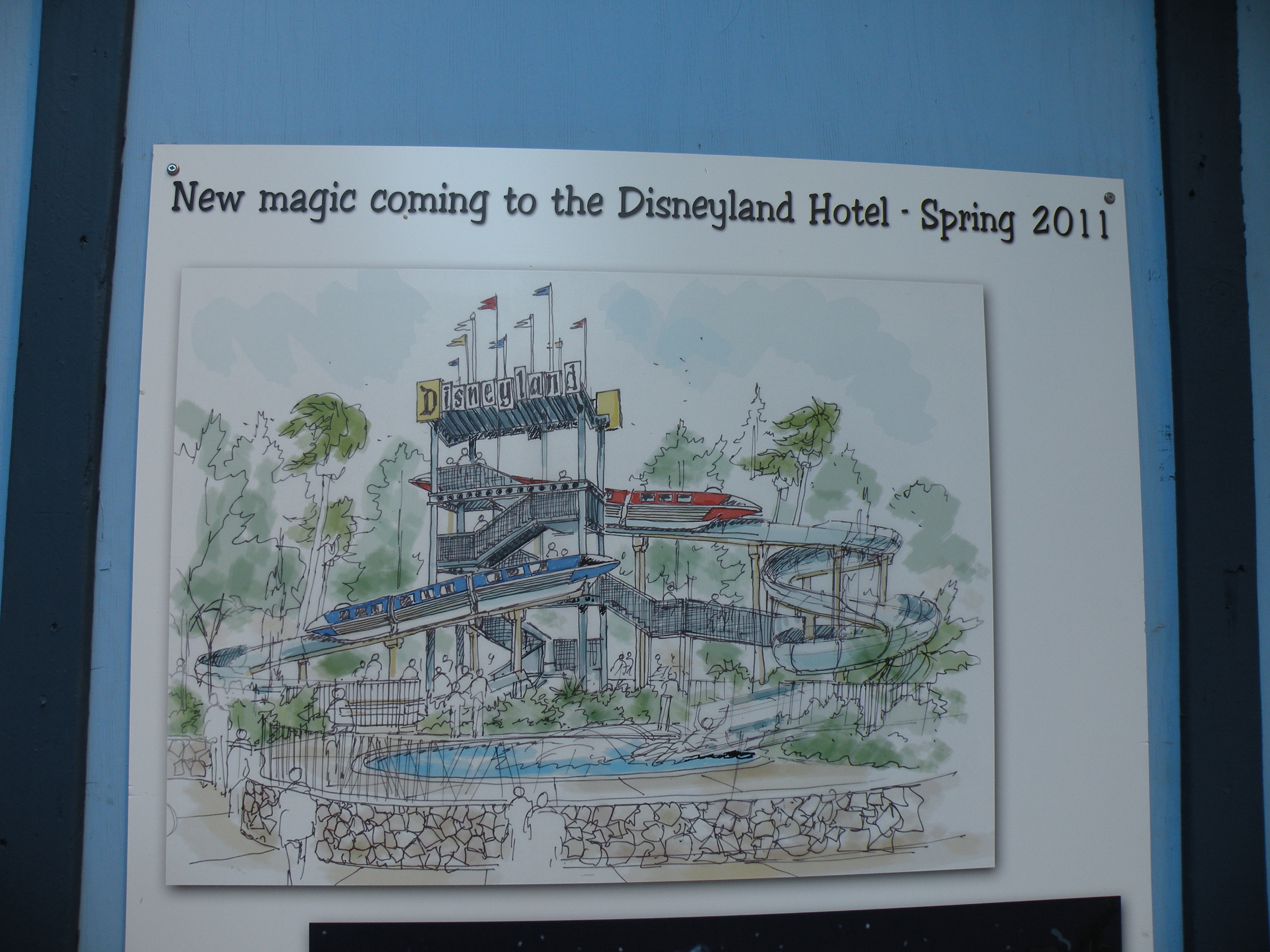 Poster of the Disneyland Hotel Slide-to-Be