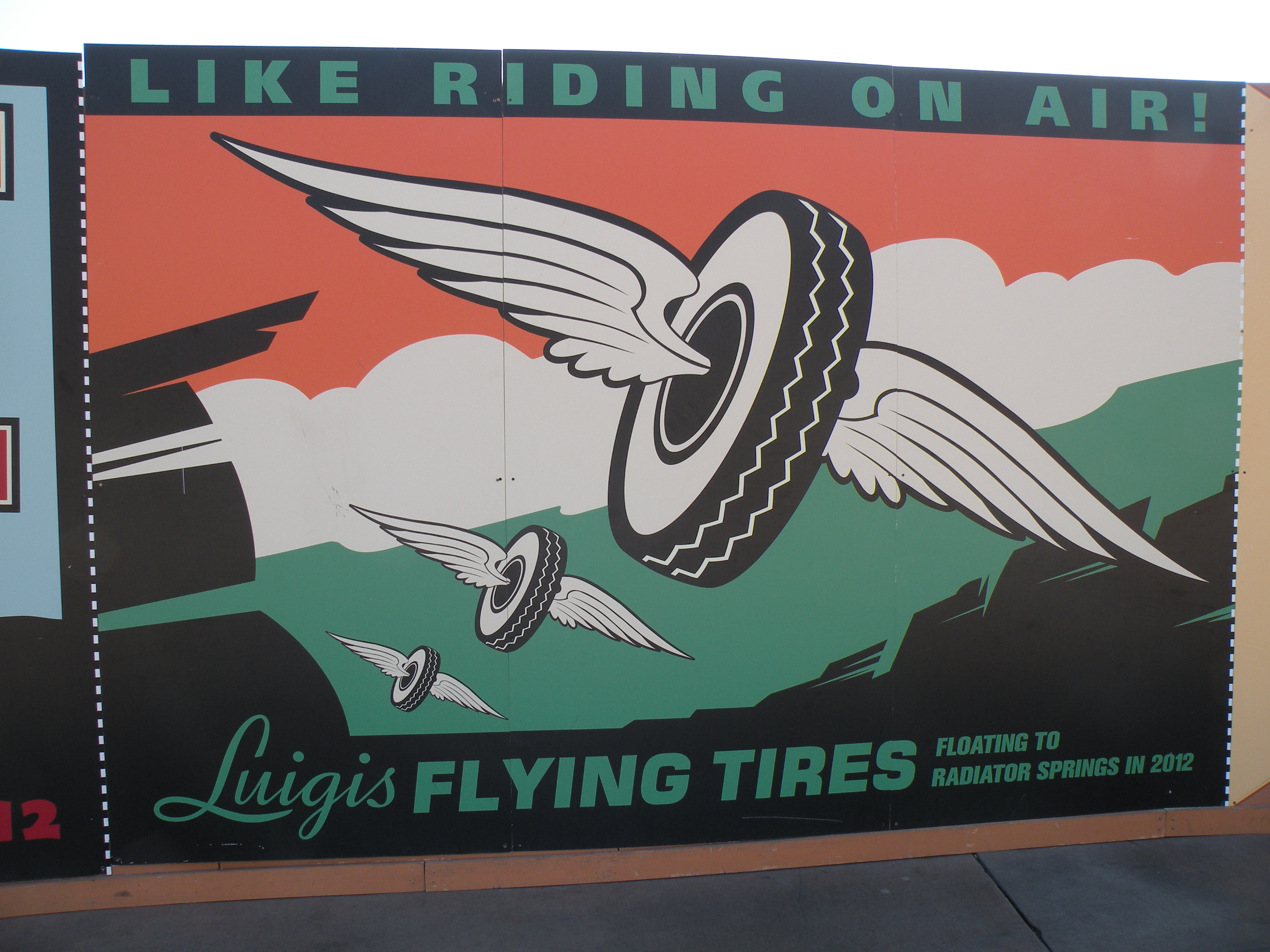 Luigi's Flying Tires
