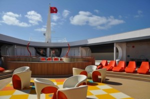 The teen club on the Disney Dream